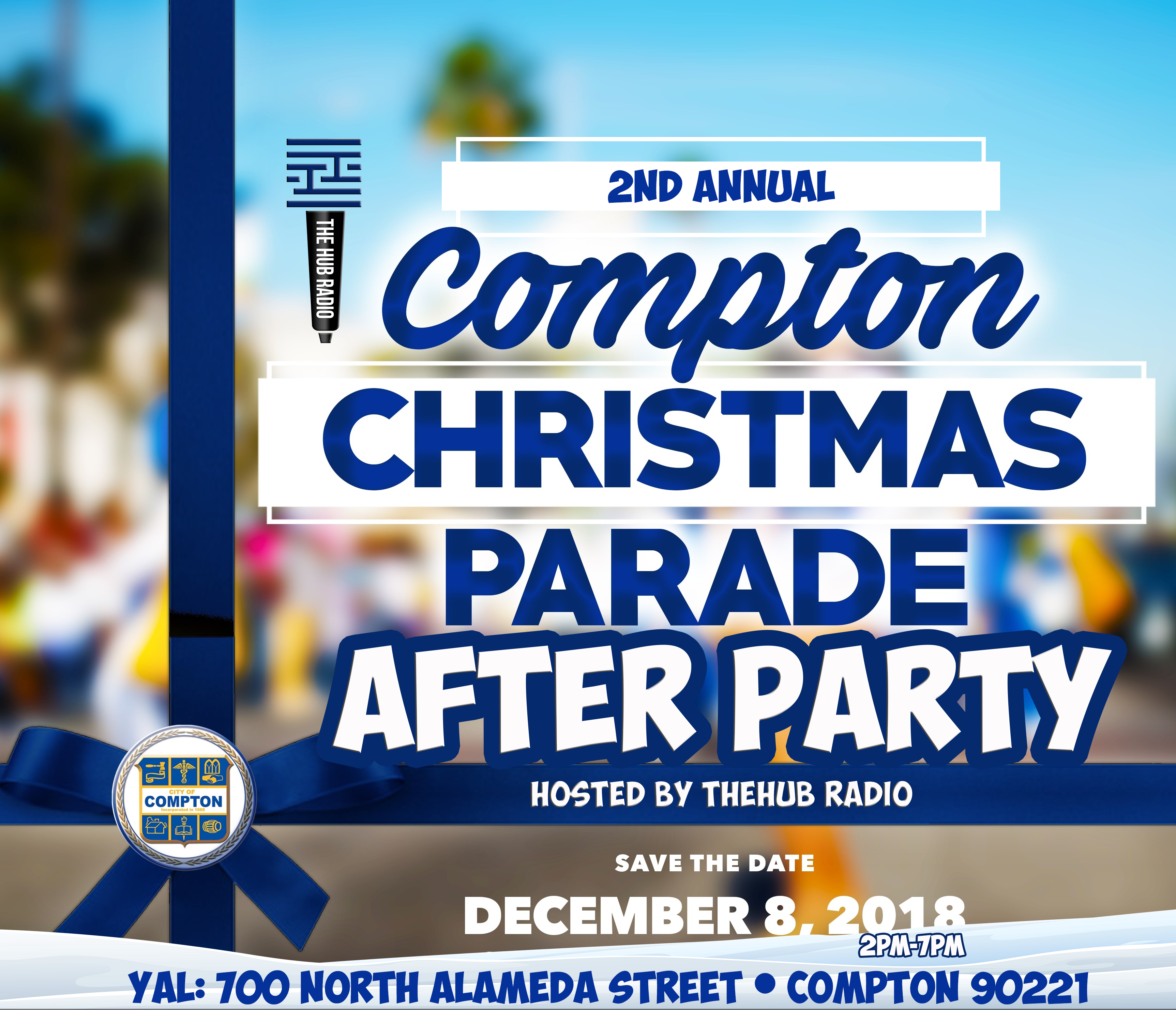 Compton Christmas Parade 2019 Vendor at the Compton Christmas Parade After Party? | TheHubRadio